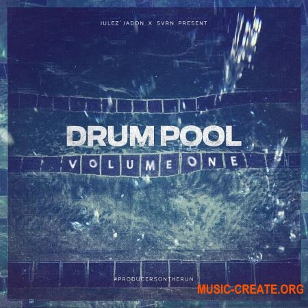 Julez Jadon Drum Pool Vol. 1 (WAV) - сэмплы ударных