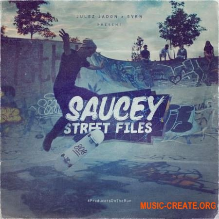 Julez Jadon Saucey Street Files (Drum Kit) (WAV) - сэмплы ударных