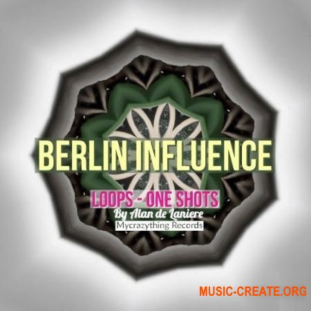 Mycrazything Sounds Berlin Influence (WAV) - сэмплы Techno, House