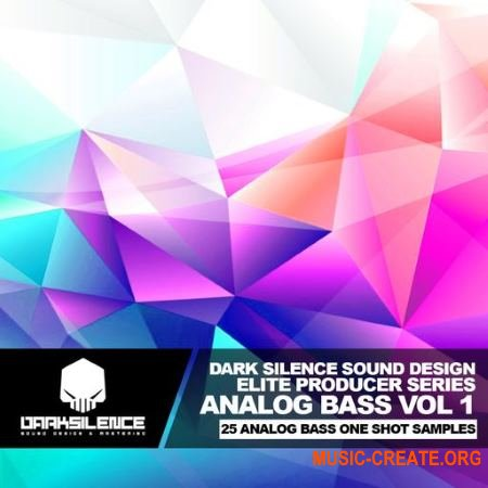 Dark Silence Sound Design Analog Bass Volume 1 (WAV) - сэмплы аналоговых басов