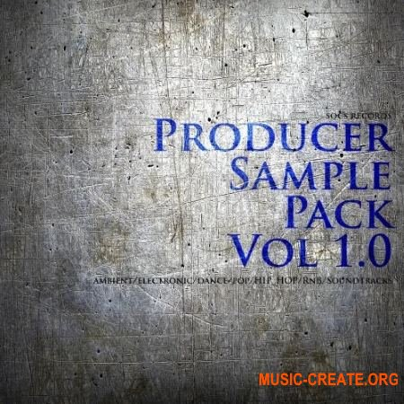 SOCS Records Producer Sample Pack Vol. 1 (WAV) - сэмплы Electro House, EDM