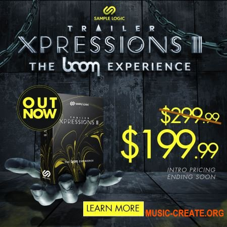 Sample Logic Trailer Xpressions II: The BOOM Experience (KONTAKT) - кинематографическая библиотека
