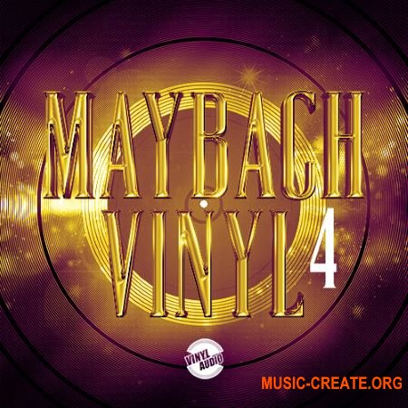 Vinyl Audio Maybach Vinyl 4 (WAV) - сэмплы Trap, Dirty South, Hip Hop