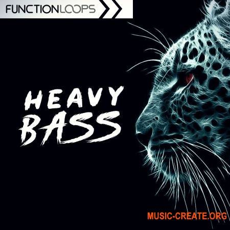 Function Loops Heavy Bass (WAV MIDI Serum) - сэмплы Dubstep