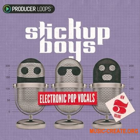 Producer Loops Stick Up Boys Electronic Pop Vocals Vol 3 (WAV MIDI) - вокальные сэмплы