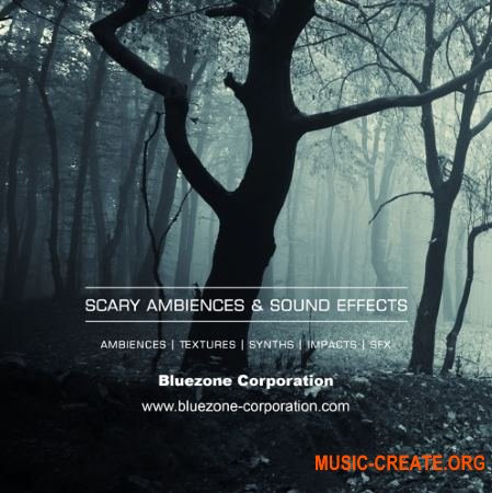 Bluezone Corporation Scary Ambiences and Sound Effects (WAV) - звуковые эффекты