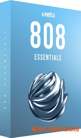 Cymatics 808 Essentials (WAV Massive Serum Presets) - сэмплы 808 басов