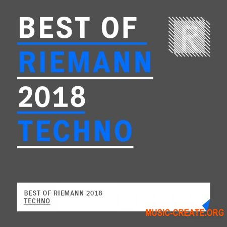 Riemann Kollektion Best of Riemann 2018 Techno (WAV) - сэмплы Techno