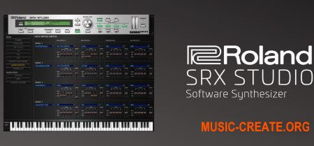 Roland VS SRX STUDIO v1.0.0 (Team R2R) - синтезатор