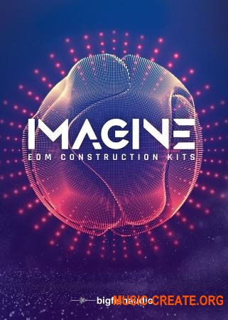 Big Fish Audio IMAGINE: EDM Construction Kits (WAV) - сэмплы EDM