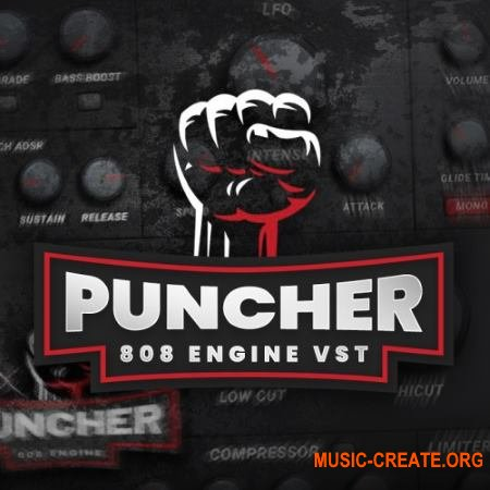 Industrykits Puncher 808 Engine VST v1.0 WiN-OSX RETAiL (SYNTHiC4TE) - синтезатор