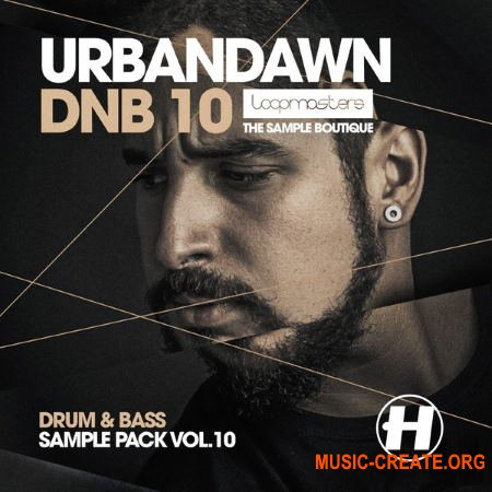 Loopmasters Urbandawn Drum and Bass Vol.10 (WAV REX) - сэмплы Drum and Bass
