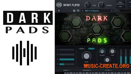 StudioLinked Infiniti Expansion Dark Pads Library WIN (DECiBEL) - библиотека падов