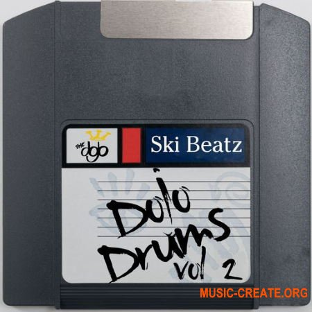 Ski Beatz - Ski Beatz - Dojo Drums Vol. 2 (WAV) - сэмплы ударных, Hip Hop