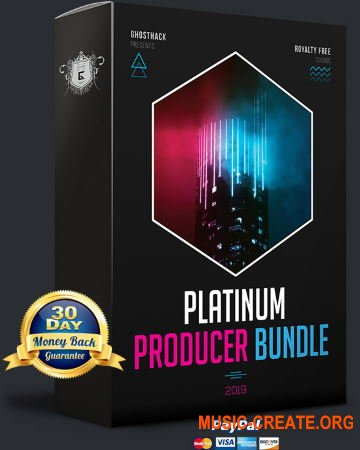 GhostHack Platinum Producer Bundle 2019 (WAV MiDi SERUM) - сборка сэмплов