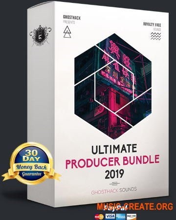 Ghosthack Ultimate Producer Bundle 2019 (WAV MiDi FLP Massive Serum) - сборка сэмплов