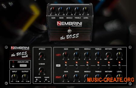 Nembrini Audio The Boss Bundle v1.0.1 (Team R2R) - гитарный усилитель