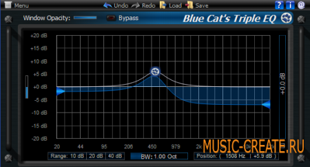 Blue Cat's Triple EQ  от Blue Cat Audio - эквалайзер