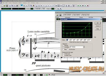 Overture  от Geniesoft Inc. - секвенсор / мультитрек