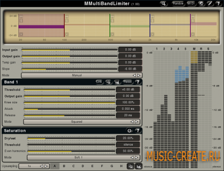 MMultiBandLimiter 2.01 от MeldaProduction - лимитер