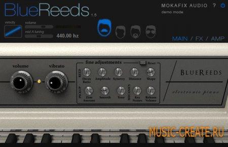 Blue Reeds 1.5 от Mokafix Audio - электрическое пианино
