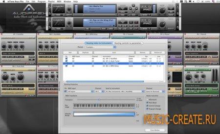 inTone Keys 1.2  от Audiffex - плагин для эффектов и инструментов