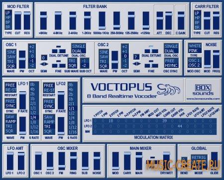 Voctopus от Boxsounds - vocoder / вокодер