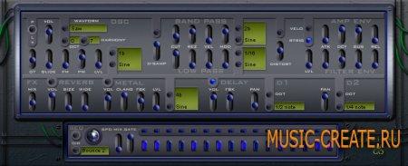 Texture 1.2.1 от Ugo - аналоговый синтезатор