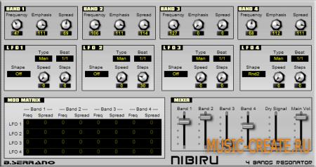 Nibiru 2.0 от B.Serrano - фильтр