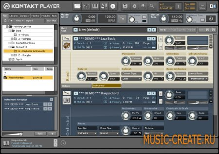 Native Instruments обновили Kontakt Player до v4.0.5