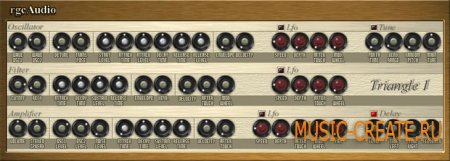 Triangle I 1.1 от rgc:audio - синтезатор