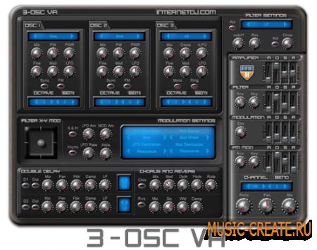 3-OSC VA от Angular Momentum VST - аналоговый синтезатор