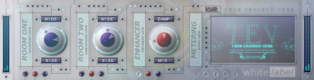 Twin Engined Verb (TEV) от daz.diamond - reverb / реверберация