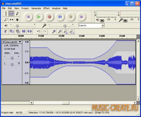 Audacity 1.3.11 от Audacity - Audio Editor