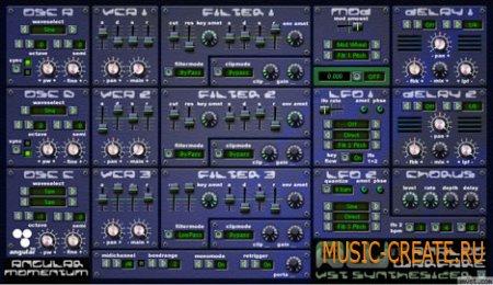 Warfare 1.0 от Angular Momentum VST - синтезатор