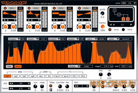 FMMF от de la Mancha - синтезатор (FM)