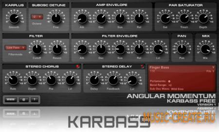 AM KarBass Free от Angular Momentum VST- синтезатор