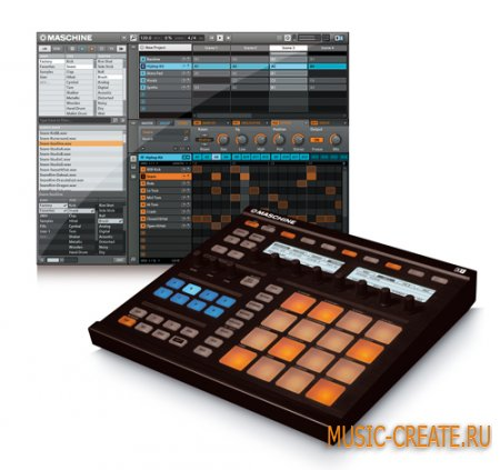 Native Instruments Maschine v1.7.2 x86/x64 Update  (TEAM ASSiGN)