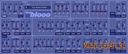 The blooo 1.0.4 от Full Bucket Music - полифонический синтезатор