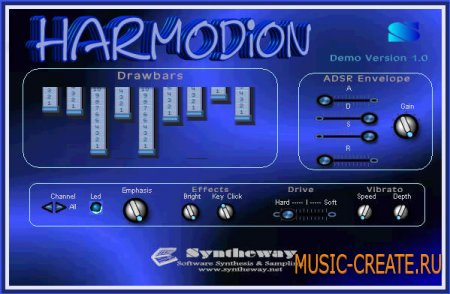 Harmodion от Syntheway Virtual Musical Instruments - орган