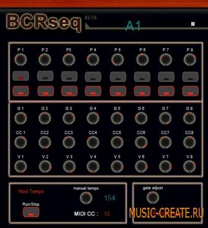 BCRseq от Nay-Seven - MIDI FX / утилита