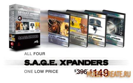 XPANDER BUNDLE - S.A.G.E Expander Bundle от ILIO - библиотеки для Stylus RMX